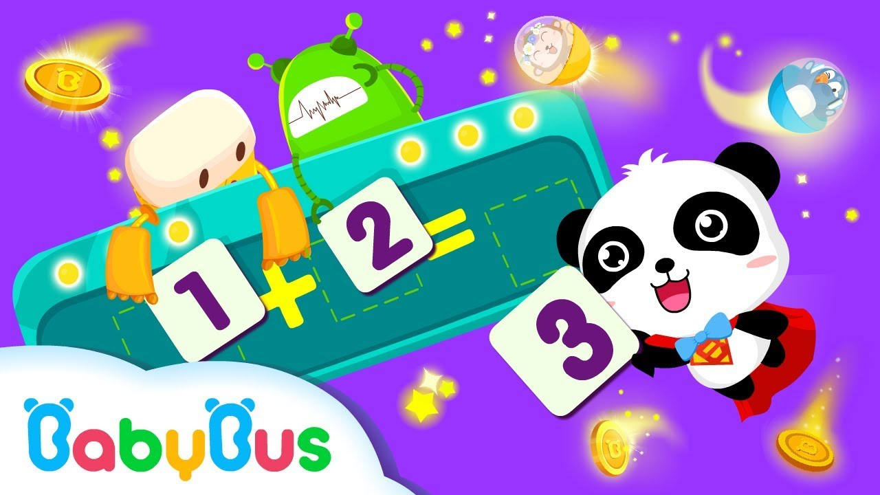 Baby Panda Learns Math | Learn Math | Education | Kids Games | Gameplay Video | BabyBus Game