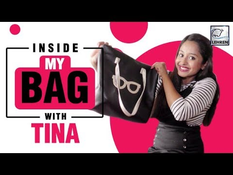 Inside My Bag With Tina Philip | Exclusive