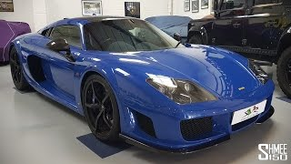 A car I've been waiting to drive for a while, the 650hp Noble M600 ...