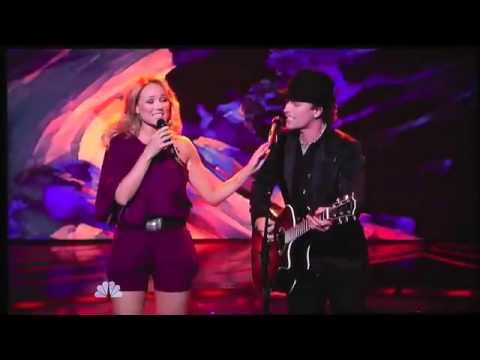 Michael Grimm & Jewel perform