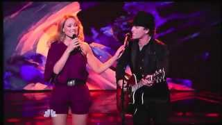 """Michael Grimm & Jewel perform """"Me and Bobby McGee"""" on America's Got Talent"""