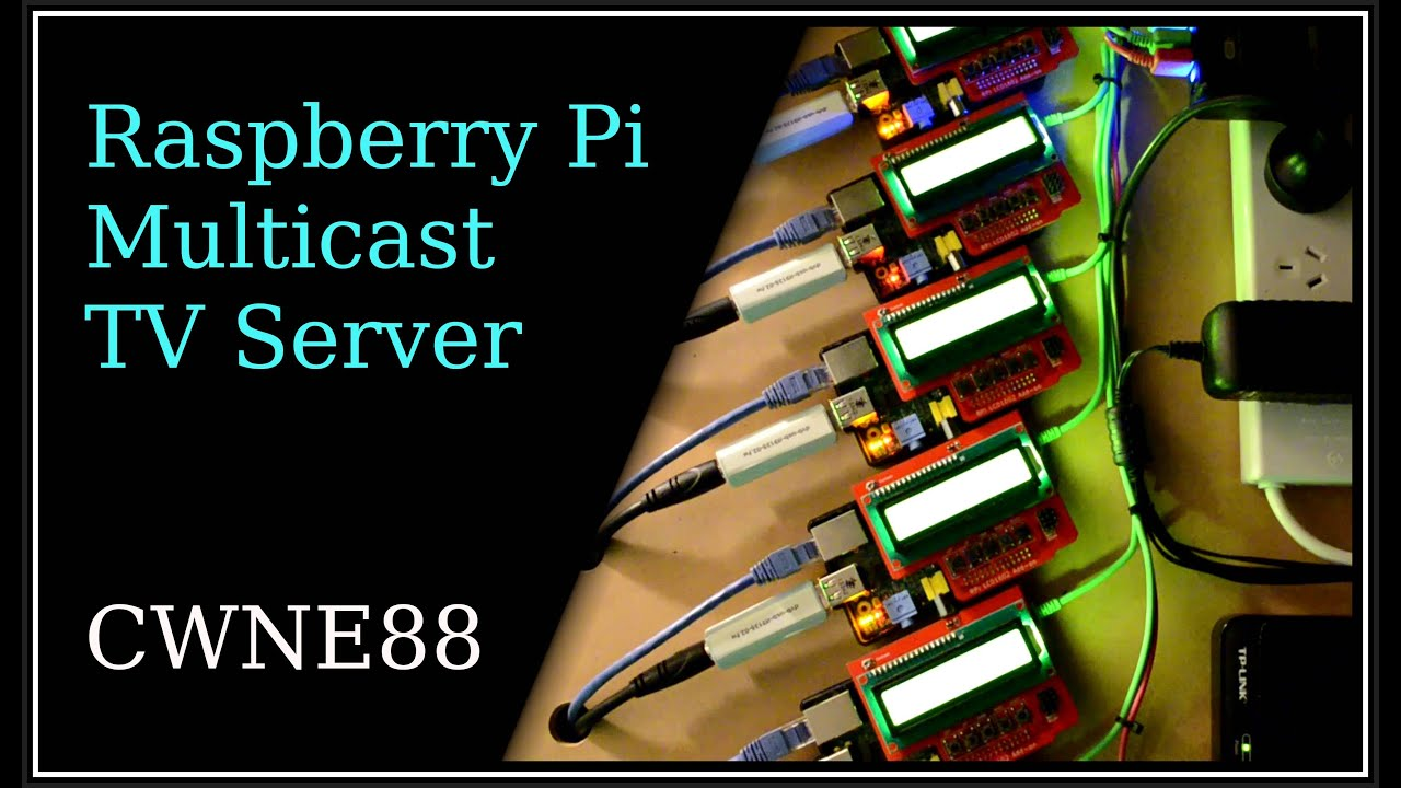 Raspberry Pi Multicast TV server