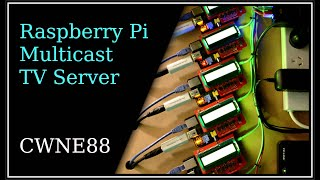 Raspberry Pi Multicast TV server