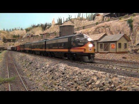 50s & 60s Northwest Railfanning on the ERM