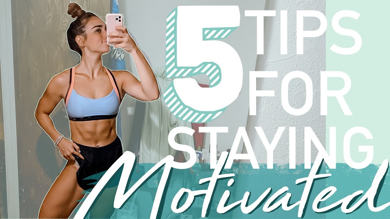 <div>HOW I KEEP MOTIVATION | living a healthy lifestyle & reaching your fitness goals</div>
