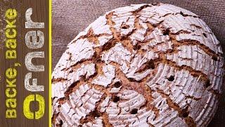 Bio Krustenbrot - doppelt gebacken | Backe backe Ofner