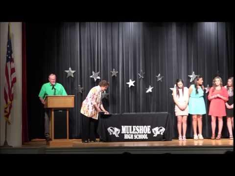 Muleshoe High School Athletic Banquet 2015
