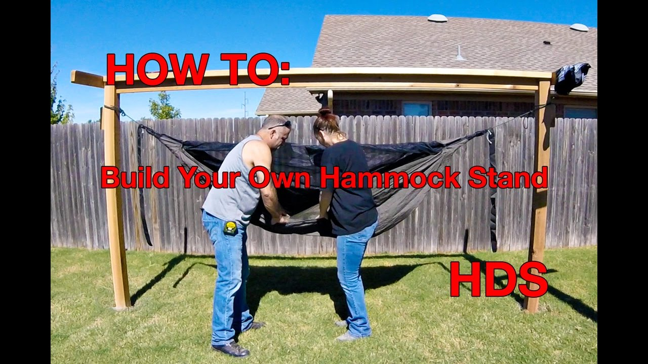 how to make your own hammock stands  hennessy hammocks how to make your own hammock stands  hennessy hammocks   youtube  rh   youtube
