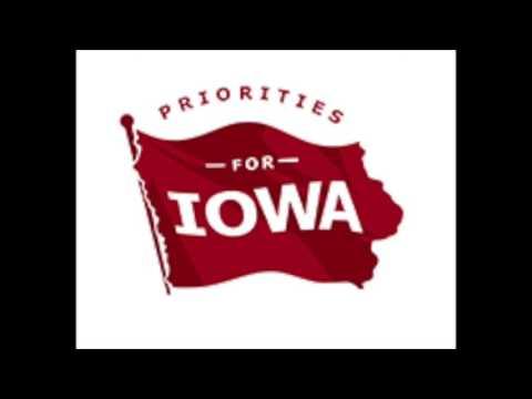 Priorities for Iowa on WHO Radio