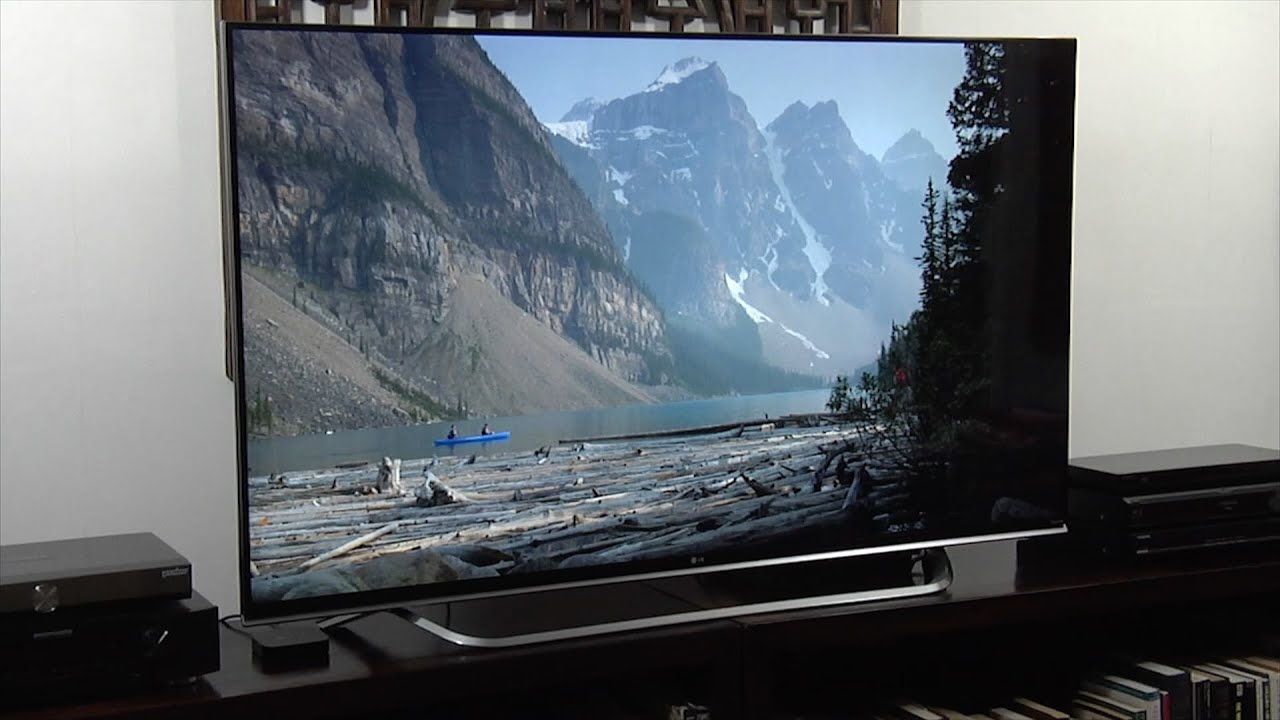 LG 65UF850 4K Ultra HD TV Review - YouTube