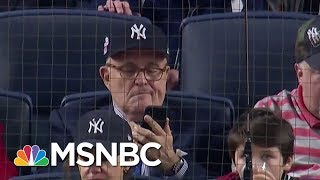 Mayor Rudy Giuliani On Abrupt Departure From Law Firm   Deadline   MSNBC