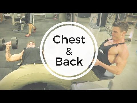 Chest & Back Workout (Form Explained!)