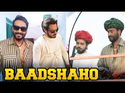 Ajay Devgn's BAADSHAHO LOOK Revealed - Watch Out