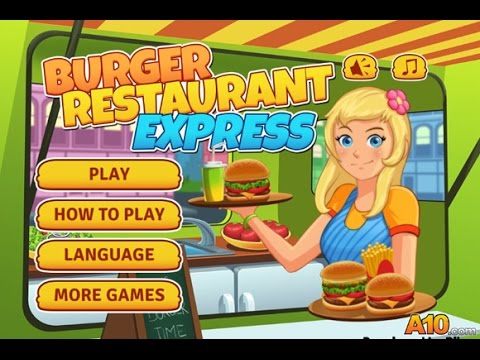 Game On Line Memasak Burger Retaurant Express Youtube