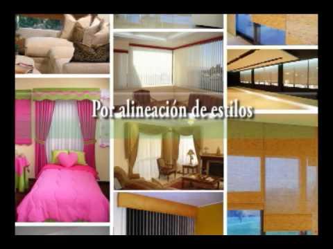 Modelos de cortinas youtube for Modelos de cortinas de salon