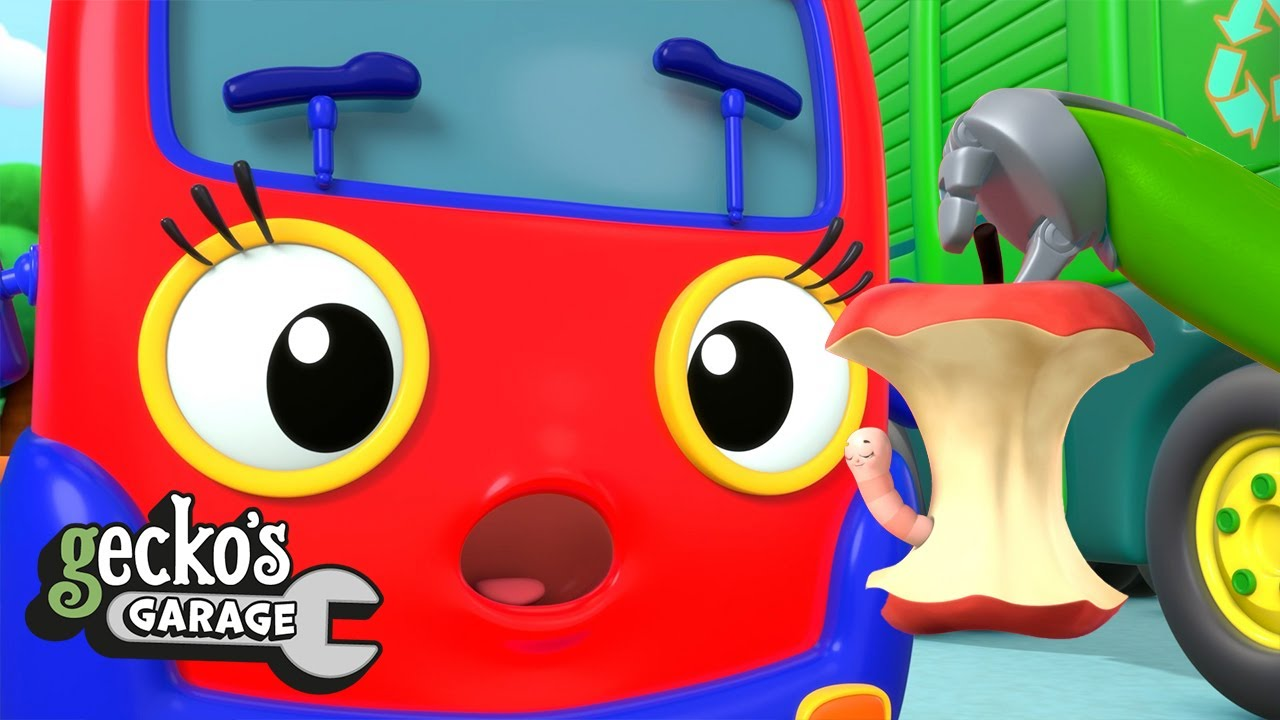 Baby Truck's Wobbly Tooth Hunt | Gecko's Garage | Cartoons For Kids