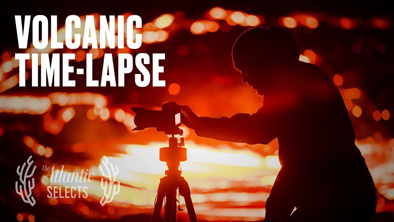 Time-Lapse Video of Hawaii's Kīlauea Volcanic Eruption - The