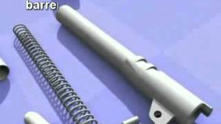Repeat youtube video การถอดประกอบอาวุธปืนขนาด 11 มม.