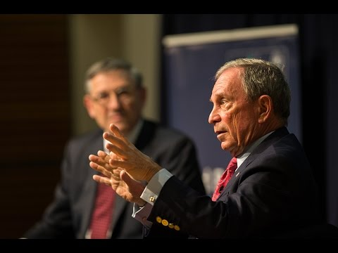 Distinguished speaker seminar: Michael Bloomberg, in conversation with Peter Tufano