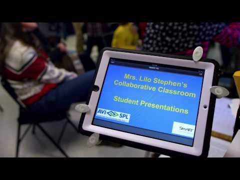 Kenmore Middle School Adds a Collaborative Classroom