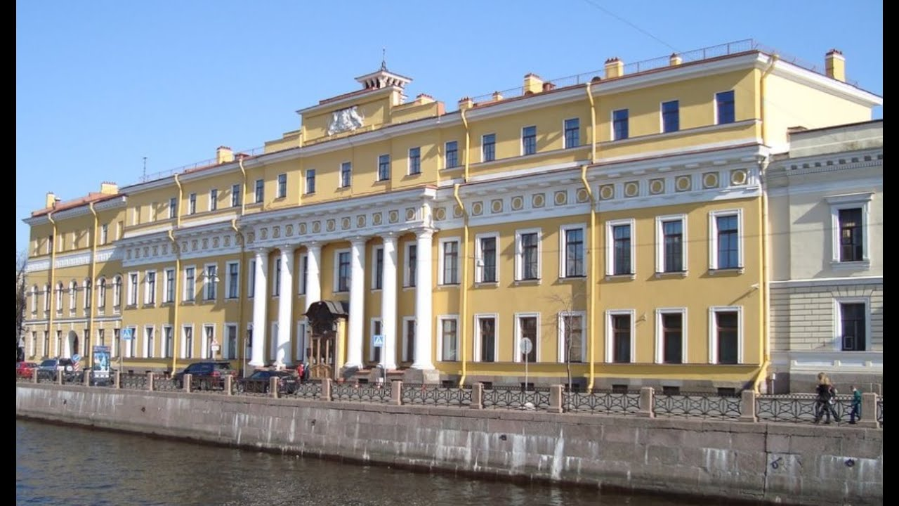 Saint Petersbourg Palais YOUSSOUPOV - YouTube