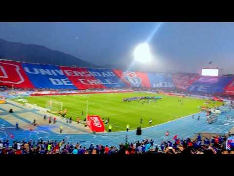 Salida Universidad de chile vs Iquique 2016