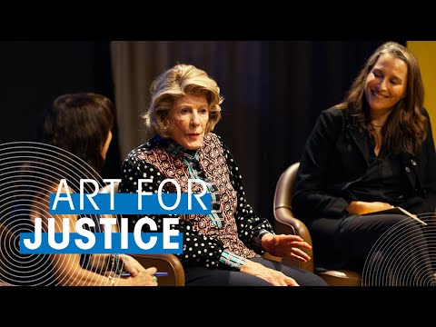 Art For Justice Ft. Agnes Gund, Catherine Gund & Maria Hinojosa