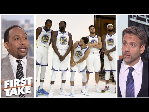Stephen A., Max debate how much longer Golden State Warriors can stay together | First Take | ESPN