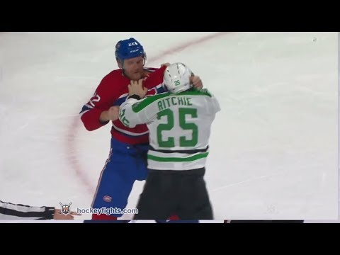 Brett Ritchie vs Karl Alzner Mar 13, 2018