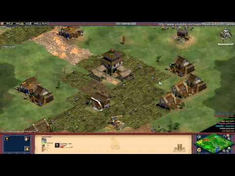 Aoe2 HD: 4v4 Black Forest (Koreans, Tower Rush) (6/27/13)