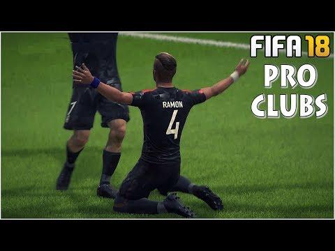 FIFA 18 - Pro Clubs #6 AO VIVO