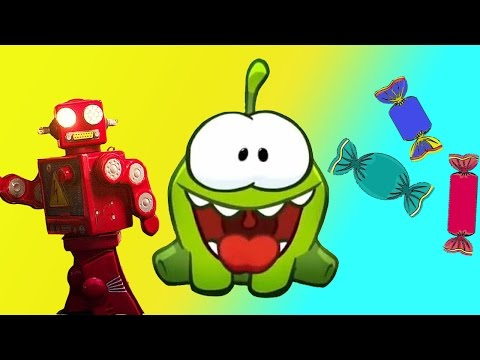 Om Nom Stories|Cut The Rope Funny Cartoons For Kids|New Year Candy Transformer Friend|Chotoonz TV