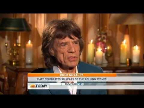 Rolling Stones NBC interview.Nov 2012
