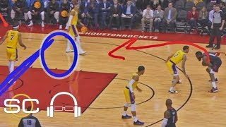 NBA film breakdown: James Harden vs. Lakers | SC with SVP