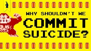Repeat youtube video Why Shouldn't We Commit Suicide? (Donkey Kong & The Myth of Sisyphus) – 8-Bit Philosophy