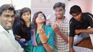 Funny Factory Cross Talk Husband Wife Vijay Duke and Bismi Tamil Cinema News Kollywood News
