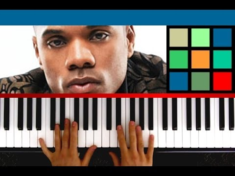 """I Smile"" by Kirk Franklin - Piano Tutorial / Sheet Music"