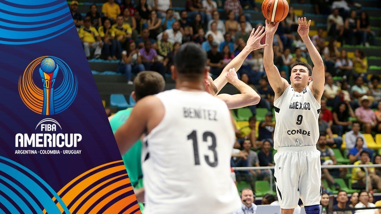 7027f4ec552 Mexico vs Brazil - Highlights - Group A - FIBA AmeriCup 2017 - YouTube