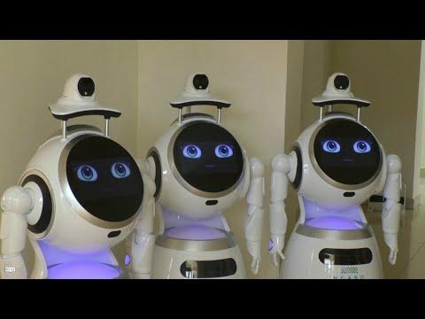 روبوتات لحماية الطواقم الطبية في رواندا