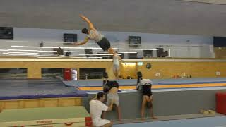 Gymnastic Skills - A view into our Training