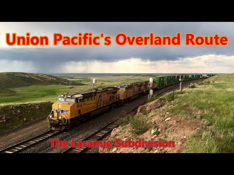 Union Pacific's Overland Route: the Laramie Subdivision