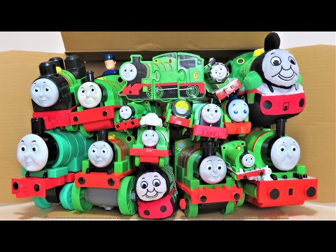 Thomas & Friends Many Percy toys come out of the box Trackmaster RiChannel