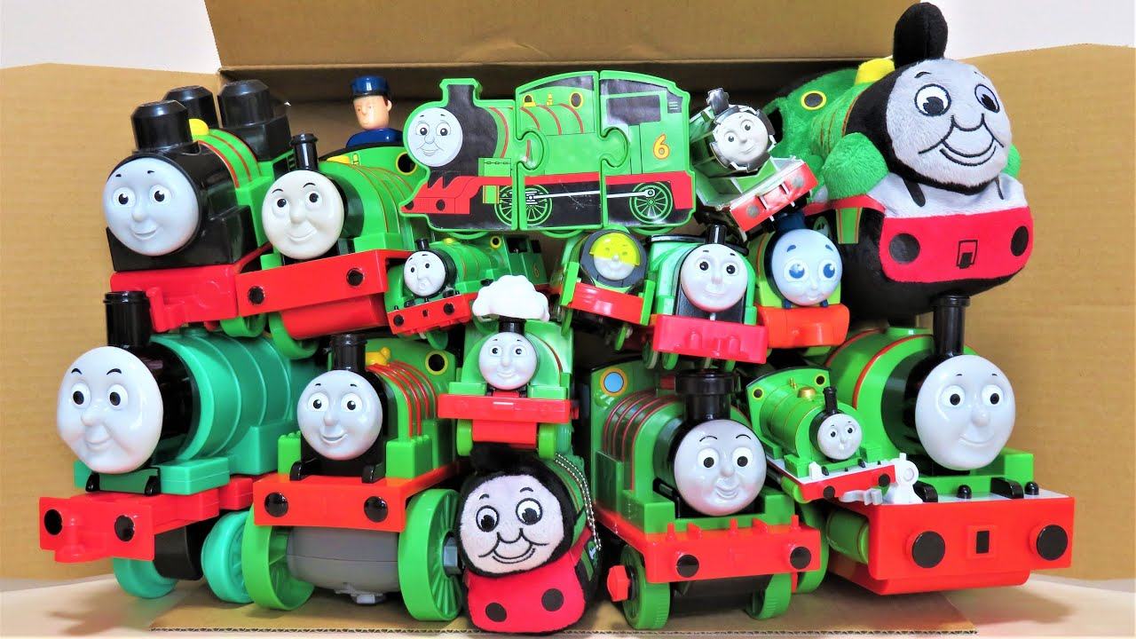 Thomas \u0026 Friends Many Percy toys come out of the box Trackmaster RiChannel
