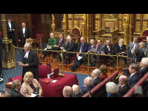 Speaker of the House of Lords Says He Will