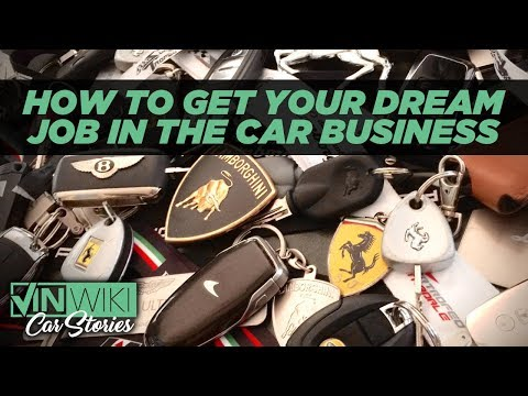 How to get your dream job in the exotic car business