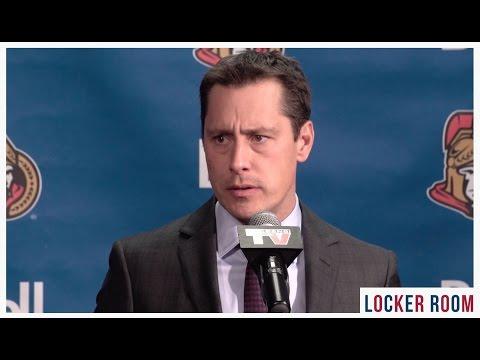 Oct 12: Sens vs. Leafs - Boucher Post-game