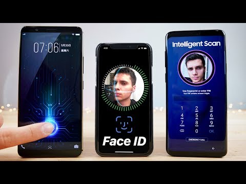 In-Glass Fingerprint vs Face ID vs S9 Intelligent Scan SPEED Test!
