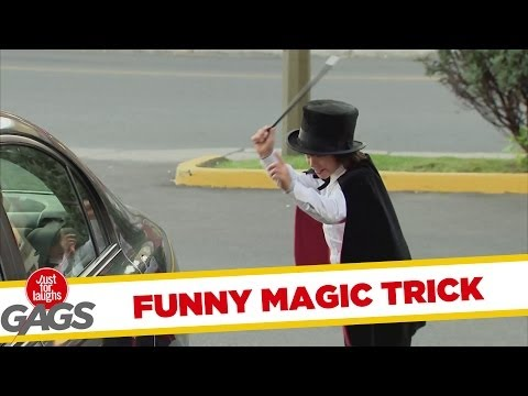 Little Magician Shrinks Car Prank