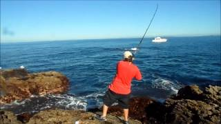 Flat Rock Land Base Fishing NZ
