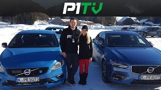 fahrspa im schnee volvo winter testfahrten 2017 feat v90 t6 s60 v60 polestar s90 r design